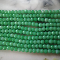 Glass Beads 8 mm Pale Green