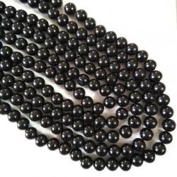 Glass Bead 10 mm Black